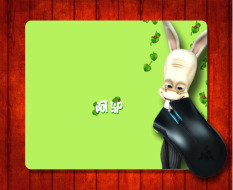 Mouse Pad Kartun Menarik Gambar (8) untuk Mouse Mat 240*200*3mm Gaming Mice Pad-Intl