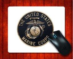 MousePad Deng USMC Korps Marinir Amerika Serikat untuk Mouse Mat 240*200*3mm Gaming Mice Pad- INTL