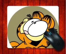 Jual Mouse Pad Garfield Untuk Mouse Mat 240 200 3Mm Gaming Mice Pad Intl