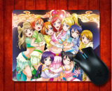 Jual Mouse Pad Love Live Untuk Mouse Mat 240 200 3Mm Gaming Mice Pad Intl Oem
