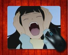 Mouse Pad Rin Itoshiki Sayonara Zetsubou Sensei Anime untuk Mouse Mat 240*200*3mm Gaming Mice Pad -Intl