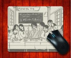 MousePad Sayonara Zetsubou Sensei100 Anime untuk Mouse Mat 240*200*3mm Gaming Mice Pad-Intl