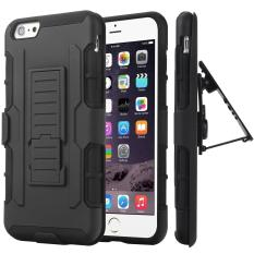 Mouzel Case Belt Holster Stand Hard Cover For iPhone 6 /6s