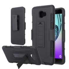 Mouzel Case Belt Holster Stand Hard Cover For Samsung A9 Pro