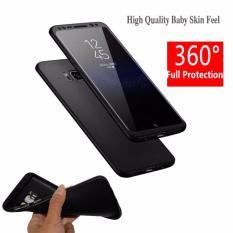 MR Case 360 Samsung Galaxy S8 Plus / Case Samsung S8+ / Case Fullbody Depan Belakang Samsung S8 Plus / Silikon Samsung S8Plus/ Casing Baby Skin Samsung S8 Plus / Soft Case 360 Full Body SamsungS8+ / Ultrathin SamsungS8 Plus Slim 2in1- Black