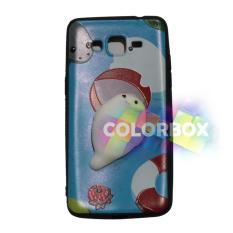 MR Case Silikon 3D Squishy Samsung Galaxy J2 Prime / Case Boneka Timbul Samsung J2 Prime / Silikon Squishy Samsung Galaxy J2 Prime / Silicone Squishy Samsung Galaxy J2 Prime / Jelly Case Squishy Samsung Galaxy J2 Prime - Cute Sea Dog Blue