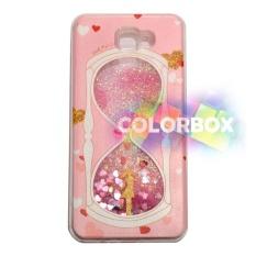MR Custom Liquid Glitter Water Case Samsung Galaxy J7 Prime  Silikon Soft Case / Casing Samsung J7 prime / Case Unik - jam Pasir