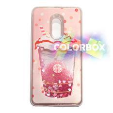 Miliki Segera Mr Custom Liquid Glitter Water Case Xiaomi Redmi Note 4 Redmi Note 4X Silikon Soft Case Casing Redmi Note4 Case Unik Ice Cream Summer Love