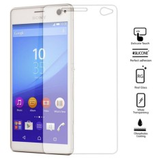 MR for Sony Xperia C4 Xperia C4 Dual Tempered Glass anti gores kaca - bening
