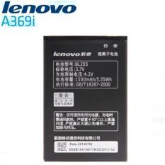MR Lenovo BL203 for a369i baterai Battery ori - hitam