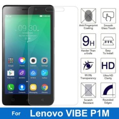 MR Lenovo Vibe P1M Tempered Glass Anti Gores Kaca Tempered  Lenovo vibe P1 m - Clear