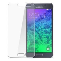 MR Samsung Galaxy Alpha G850 Tempered Glass Anti Gores Kaca - Clear