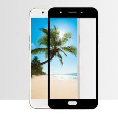 MR Screen Protector Full Screen Black Oppo F1S Selfie Expert A59 Anti Gores Kaca / Tempered Glass Oppo A59 F1S Selfie Expert Anti Depan - Hitam