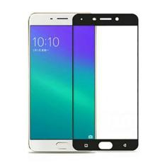 MR Screen Protector Full Screen Black Oppo F3 Anti Gores Kaca / Tempered
