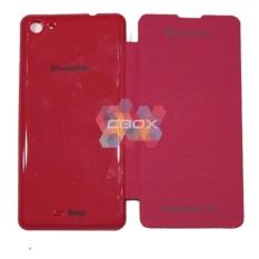 MR Smartfren Andromax U3 Flip Cover / Flipshell / Sarung HP Smartfren Andromax U3 / Non View - Pink
