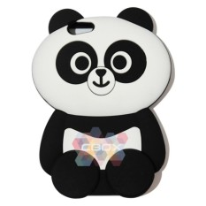 Jual Mr Soft Case 3D Panda For Oppo Neo7 A33 Silicone 3D Softcase Kartun Silicon Unik Panda Grosir