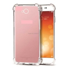 MR Soft Case Anti Crack huawei y5 2017 / Anti Shock Case huawei y5 2017 / Casing huawei y5 2017 / Case Hp - Clear