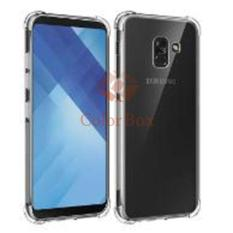 MR Soft Case Anti Crack Samsung Galaxy A8 2018 / Anti Shock Case Samsung A8 2018 / Ultrathin / Casing Samsung A8 2018 / Silicone / Silikon HP - Clear