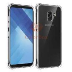 MR Soft Case Anti Crack Samsung Galaxy A8 Plus 2018 / Anti Shock Case Samsung A8 Plus 2018 / Ultrathin / Casing Samsung A8 Plus 2018 / Silicone / Silikon HP - Clear