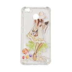 MR Soft Case Anti Crack Xiaomi Redmi 4X (14 Picture) / Anti Shock Case Xiaomi 4X / Caing Xiaomi / Silikon Case Animasi - Gadis Kamera