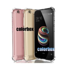 MR Soft Case Anti Crack Xiaomi Redmi 5A / Anti Shock Case Xiaomi Redmi 5A / Ultrathin / Casing Xiaomi Redmi 5A / Silicone / Silikon Hp - Clear
