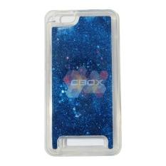 MR softshell Water Glamour Lenovo Vibe C A2020 Soft Case Glitter Polos / Casing Lenovo - Biru Tua