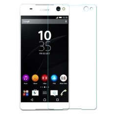 MR Sony xperia C5 Xperia C5 Ultra C5 Dual Tempered Glass anti gores kaca - bening