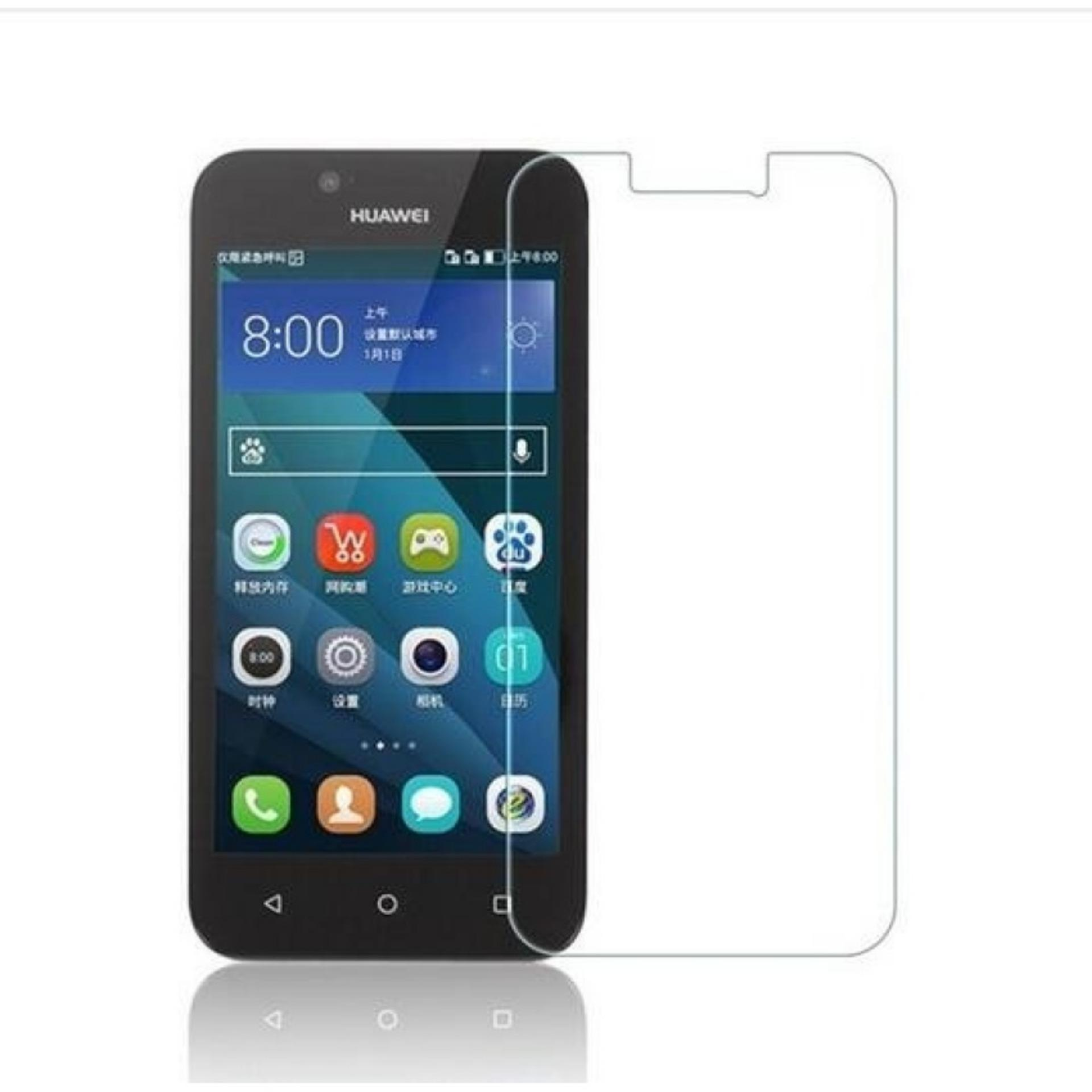 Vn Huawei Ascend Y5 / Batik / Y560 Tempered Glass 9H Screen Protector 0.32mm - Transparan
