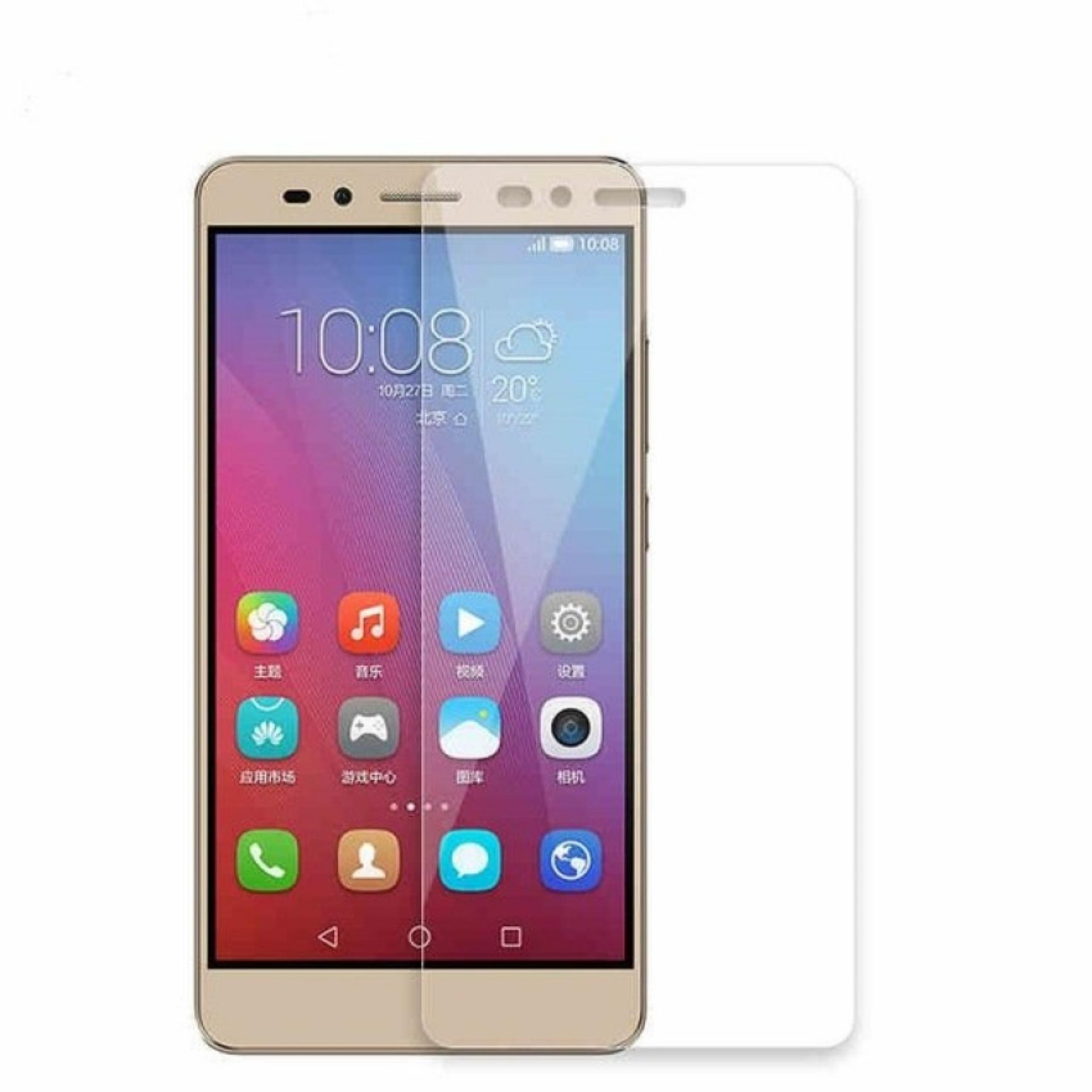 Vn Huawei Ascend GR5 / GR 5 / GR5W / Honor 5X / LTE Tempered Glass 9H Screen Protector 0.32mm - Transparan