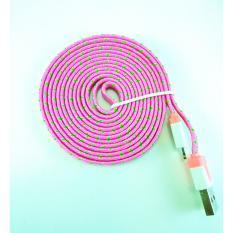 MR82 Kabel Data Charger Tali Sepatu Lighting Iphone 2 M - HijauIDR35000. Rp 35.000
