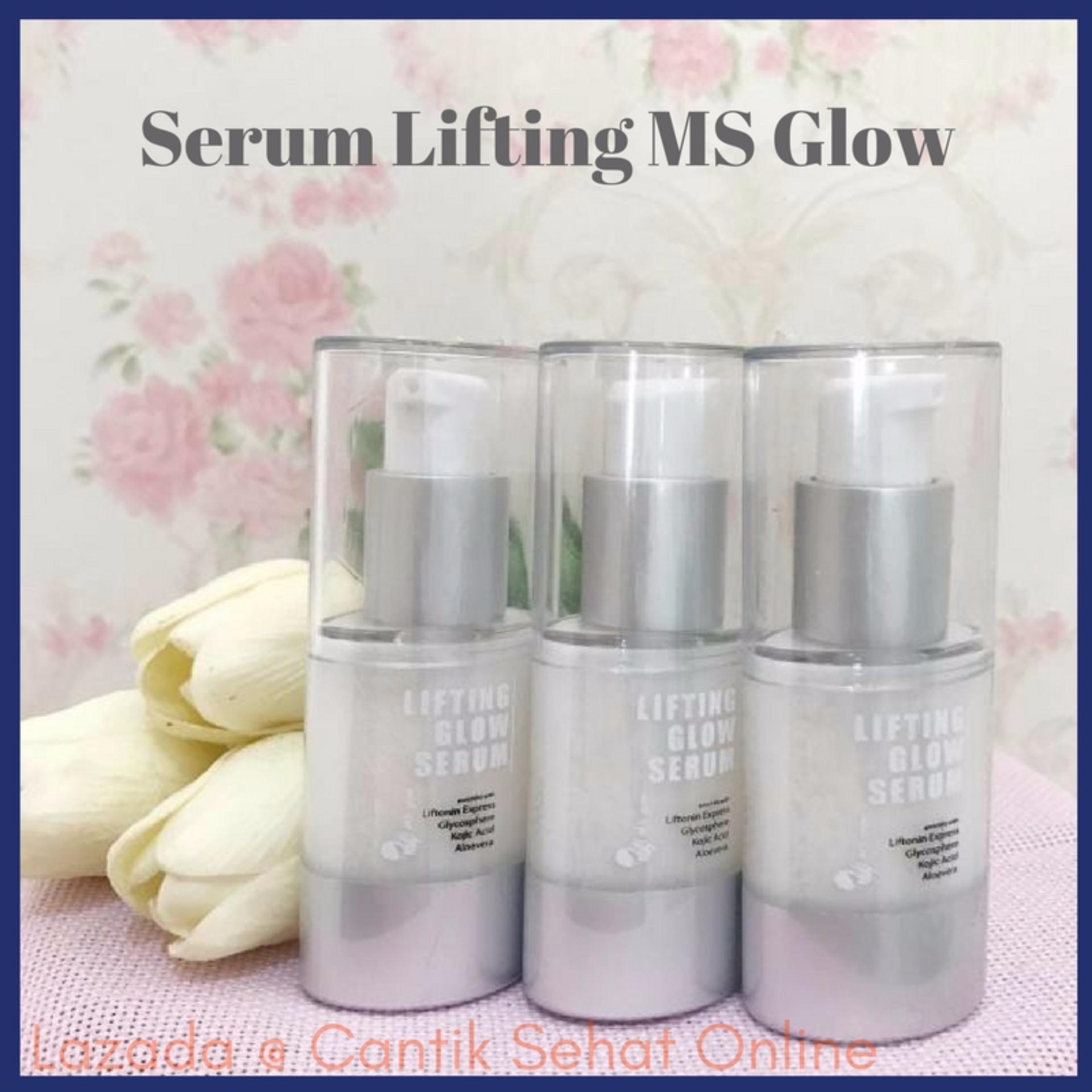Berapa Harga Ms Glow Serum Lifting Serum Ms Glow Liposom Serum Pemutih Wajah Cantik Sehat Ms Glow Di Indonesia