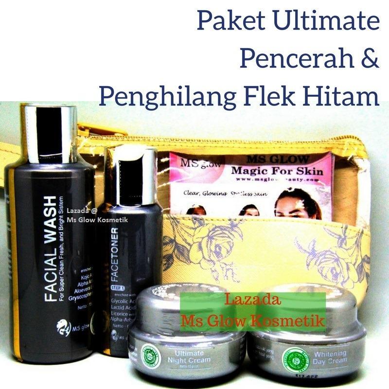 Berapa Harga Ms Glow Ultimate Series Msglow Ultimate Cream Wajah Flek Paket Perawatan Wajah Dengan Flek Hitam Tebal Penghilang Flek Hitam Msglowkosmetik Ms Glow Di Indonesia