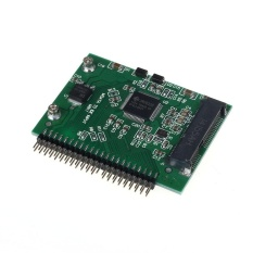 SSD MSATA untuk 44 Pin Konverter IDE Adaptor 2.5 Inch Ide HDD untuk Laptop-Intl