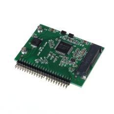 MSATA SSD Ke 44 PIN IDE Converter Adapter Sebagai 2.5 Inch IDE HDD untuk Laptop-Intl