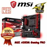 Review Msi A320M Gaming Pro Am4 Amd A320 Ddr4 Motherboard Terbaru