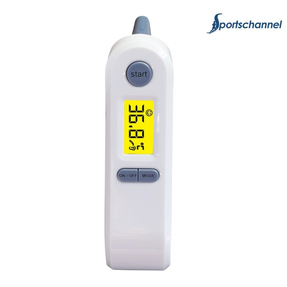 Foxnovo Et 100b Portable Lcd Digital Ir Infrared Ear Thermometer Termometer Baby Thermometermultifungsi 8 In1 It 903 Multi Functional Temperature Health Care Tool Intl