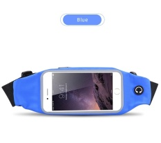 Multi-fungsional Menjalankan Olahraga Kantong Kenyamanan Kantong BlackBerry Leap Case Universal Pinggang Tas Telepon Tahan Air untuk BlackBerry LEAP- INTL