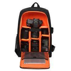Multi-Functional Waterproof DSLR Camera Bag Backpack Video Photo Bags for Digital Camera d3200 d3100 d5200 d7100 Camera Backpack with Raincover - intl