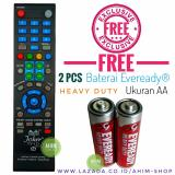 Beli Multi™ Remote Tv Pintar Bisa U Kipas Angin 210 Merek Tv Led Lcd Hdmi Plasma Free 2Pcs Baterai Aa Eveready® Dengan Kartu Kredit