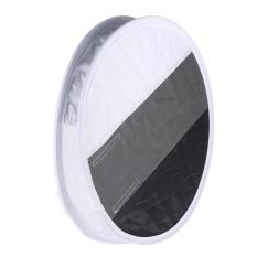 Multifunctional 12in/31cm Mini Portable Round On-camera Flash Speedlite Diffuser Softbox with White/Grey/Black Color for Canon Nikon Sigma Yongnuo Godox Andoer Neewer Vivitar Speedlight - intl