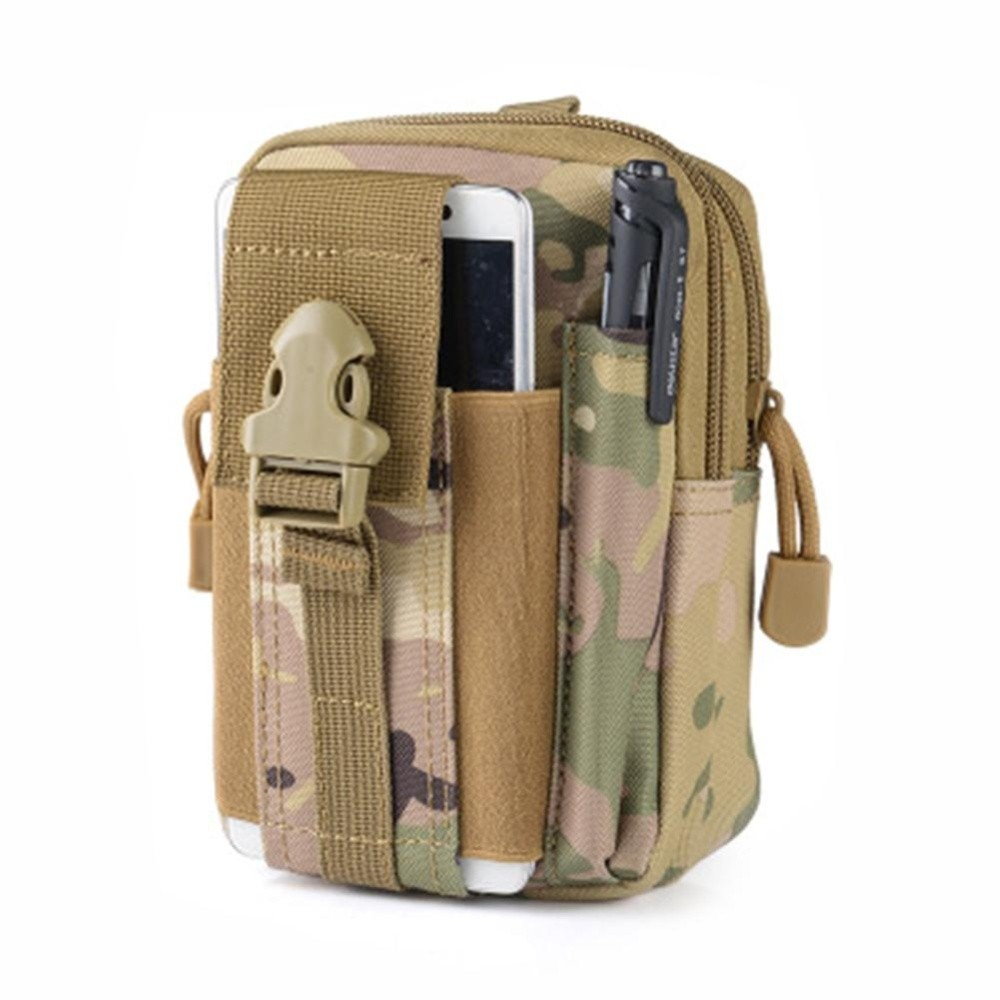 Multifunctional Utility Tactical Pouch Gadget Belt Waist Bag Tool Organizer Pouch Cell Phone Holster Holder Function