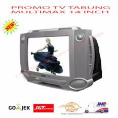 Multimax Tv Tabung Crt 14-Mx 14fa46- Silver-Promo By Cukong Betawi Electronik.