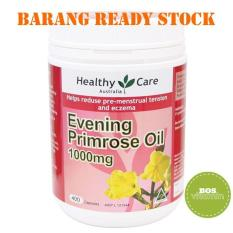 Murah Banget READY STOCK - Healthy Care Evening Primrose Oil 1000Mg 400 Kapsul Bagus