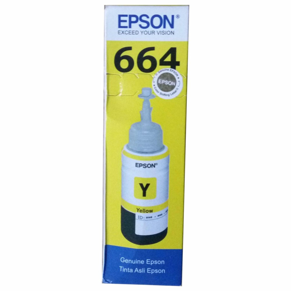 MURAH - Epson T6644 Tinta Printer Original - Yellow