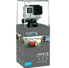 Murah !!! Gopro Hero 4 Silver Edition 12Mp Paket Lengkap !!! Garansi Resmi !