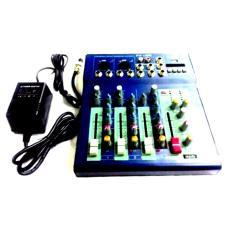 Murah !!! Mixer Profesional Mixing Console Crimson 4 Channel Usb Effect Delay Return Dan Repeat Plus Phanthom