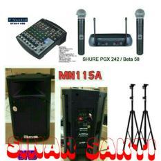 Murah Paket Sound System BMB + Mixer Soundcraft ( 15 inch + 8 Channel )