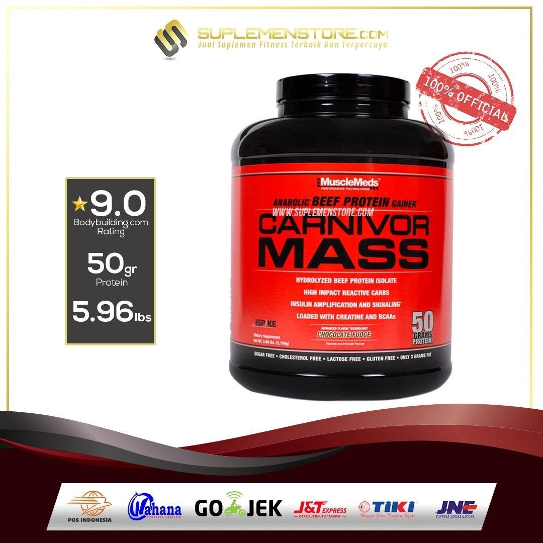 Beli Musclemeds Carnivor Mass 6 Lb Cokelat Kredit