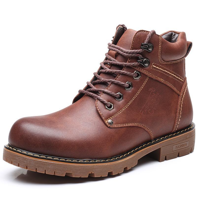 Review Toko Musim Dingin Baru Martin Boots Korea Versi Wild Perkakas Sepatu Retro Pria Sepatu Bot Boots Trend Boots Intl