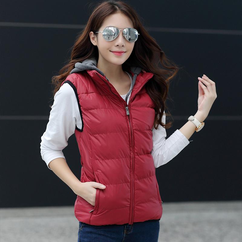 Spesifikasi Musim Gugur Dan Musim Dingin Rompi Jaket Laki Laki Merah Perempuan Other Terbaru